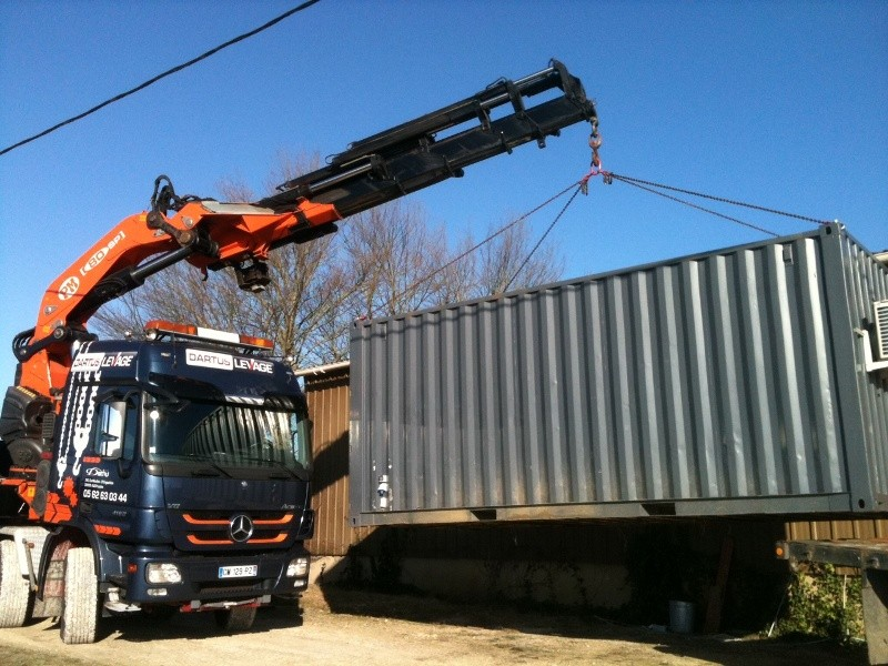 Levage container Vil...