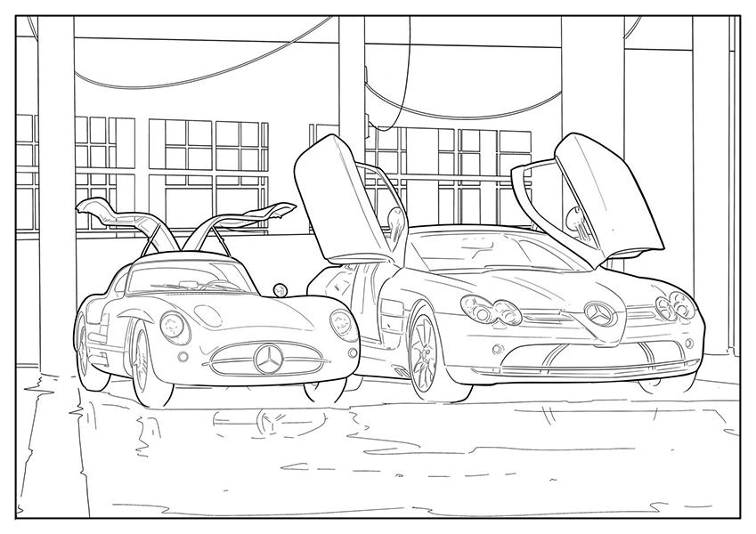Activités manuelles spéciales Mercedes-Benz
