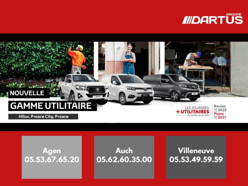 Les Journées + Utilitaires Toyota