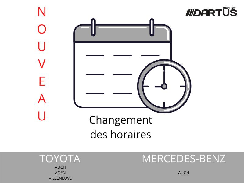 Changement horaires
