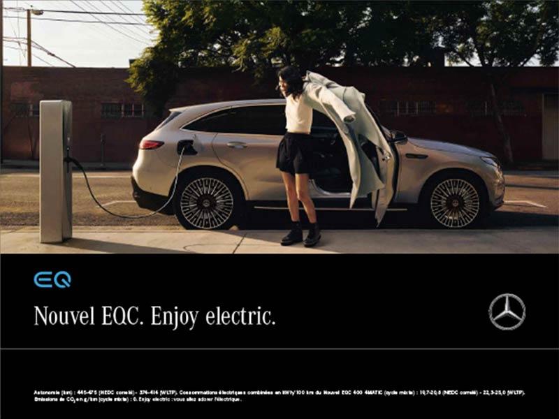 Nouvel EQC Mercedes-Benz
