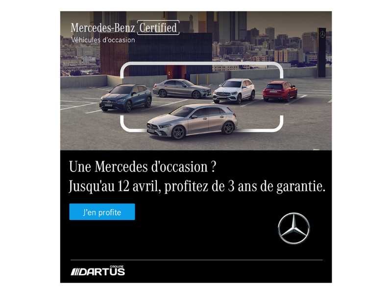 Offre Mercedes-Benz CERTIFIED